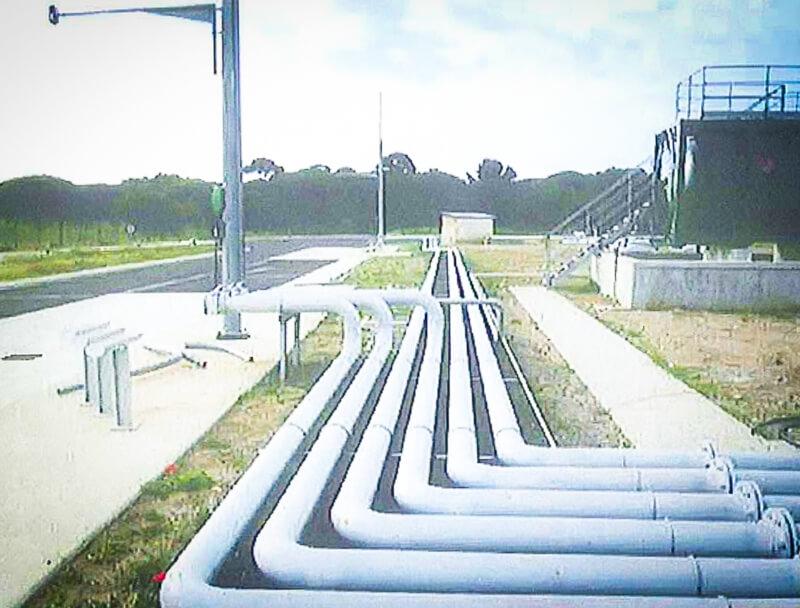 Génie civil pétrolier
